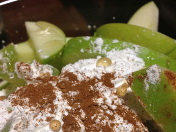 apples with starch